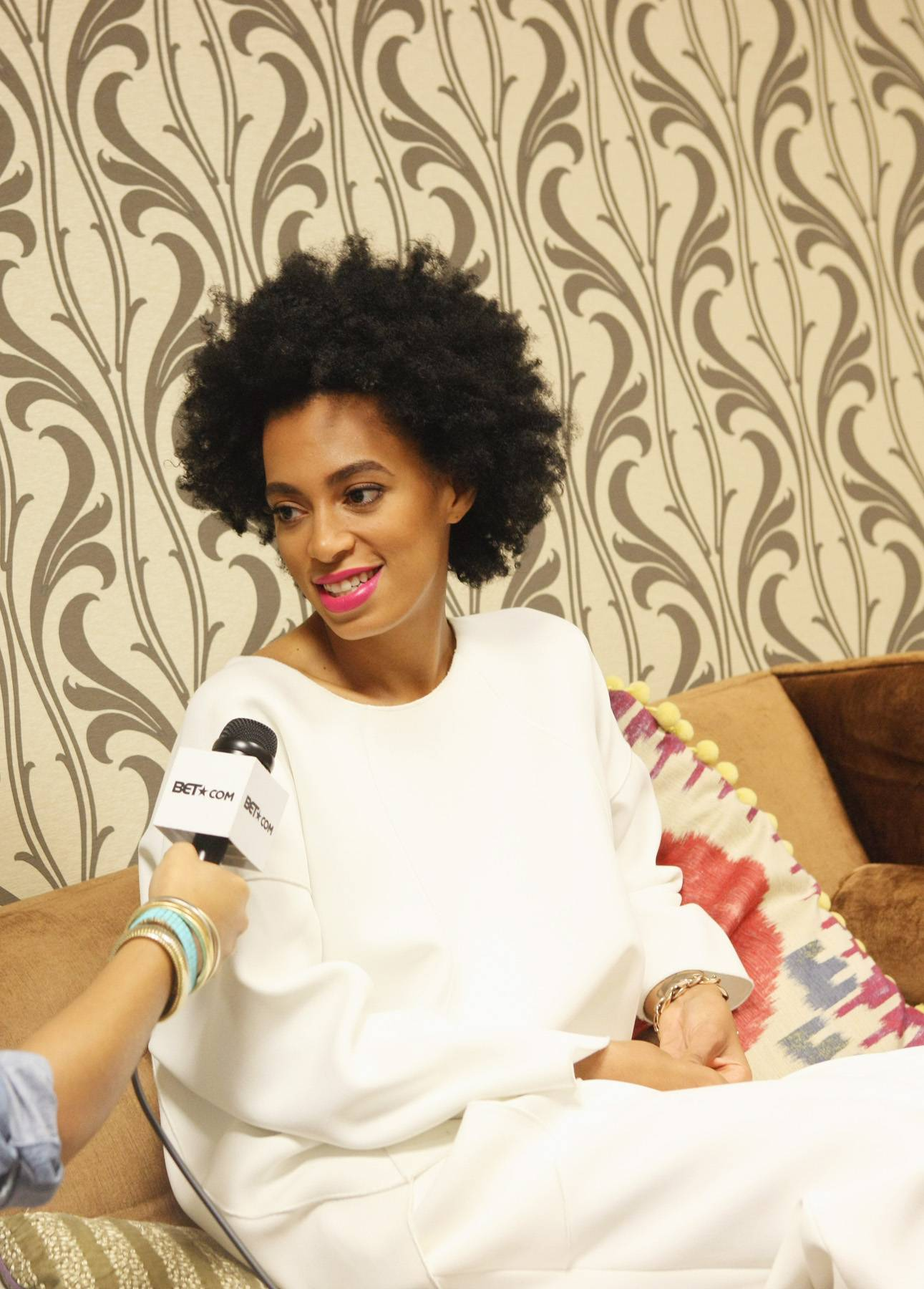 The Truth - Solange Knowles talks new record label with Taj Rani of BET.com(Photo: Bennett Raglin/BET/Getty Images for BET)