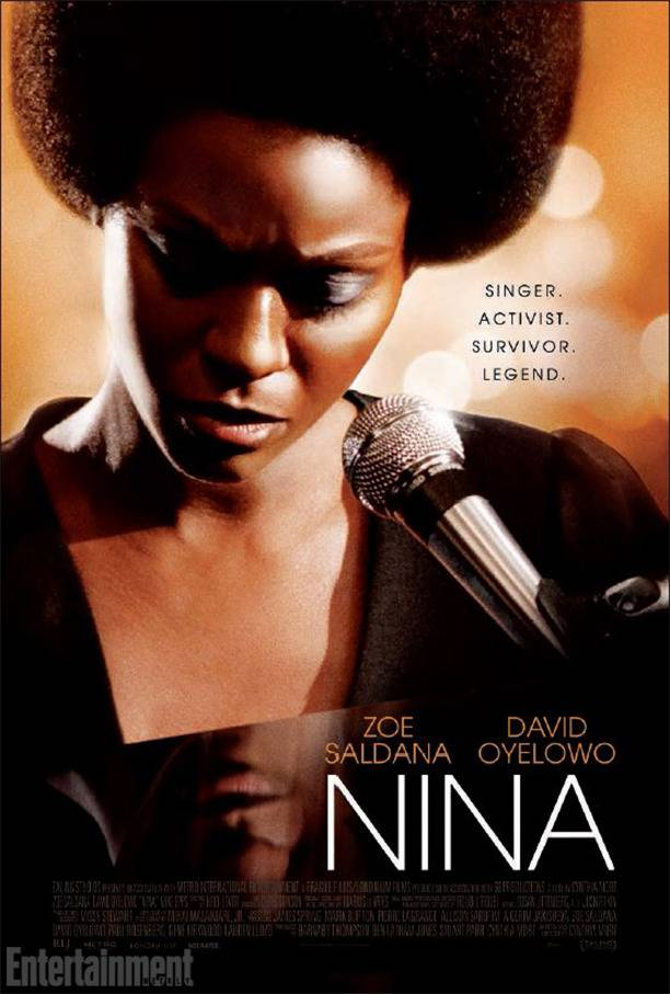 Nina Joins the Block - The Internet tried it but it could not stop the Nina Simone biopic from seeing the light of day. After stills of Zoe Salda?a arrived, depicting the famed singer in what many called blackface, the Internet lost its collective mind.To add insult to injury, the star of the movie herself went out publicly to talk, not so glowingly, about the film's lack of focus.Here we are, almost three years later, and the movie Nina will be out for the world to see on April 22, but how will it stack up against all these other music biopics? Time will tell. ? Jon Reyes & Michael Harris(Photo:Ealing Studios Entertainment, Ealing Studios, Londinium Films)