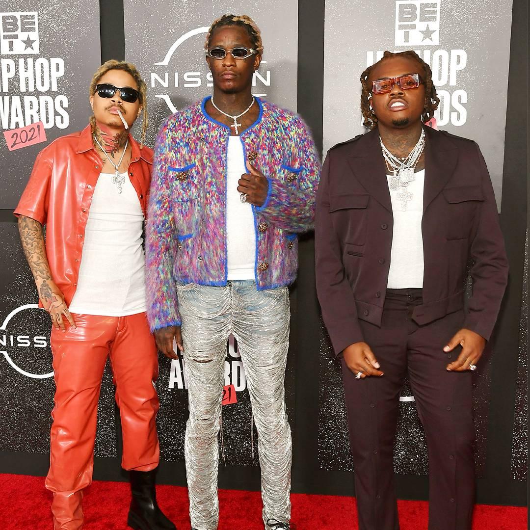 BET Hip Hop Awards 2021 | Red Carpet Taurus, Young Thug and Gunna | 1080 x 1080
