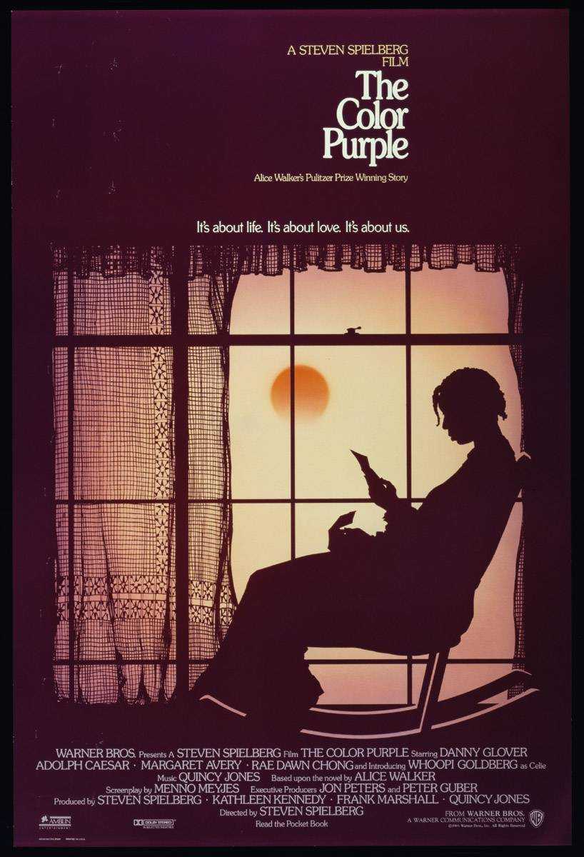 The Color Purple, Saturday at 10P/11C - Whoopi Goldberg, Oprah Winfrey & Danny Glover fight for their lives. Encore presentation on Sunday at 6P/5C.(Photo: Warner Bros Pictures)