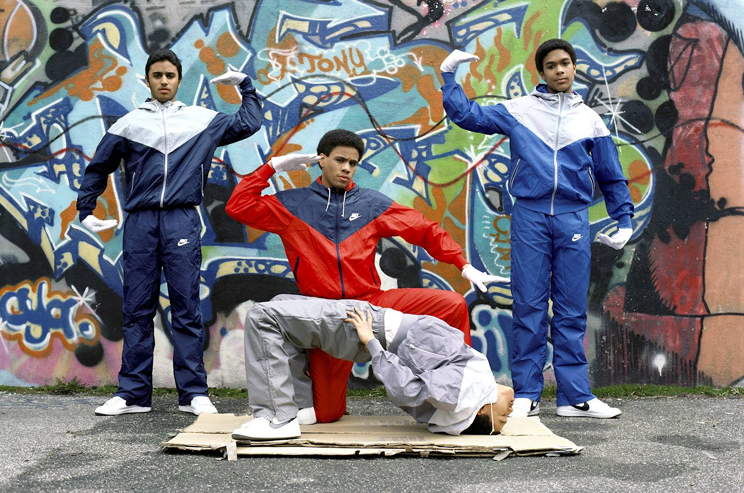 """Break-dancing - B-boy pioneers such as Bronx native Richard """"Crazy Legs"""" Colon and Ken Smith, former vice president of the Rock Steady Crew, helped to make break-dancing so popular it was incorporated as one of the five elements of hip hop. The movement inspired tracks like Kurtis Blow's""""The Breaks,""""Herbie Hancock's""""Rockit"""" and KRS-One's""""Step Into a World (Rapture Delight).""""(Photo: Michael Ochs Archives/Getty Images)"""