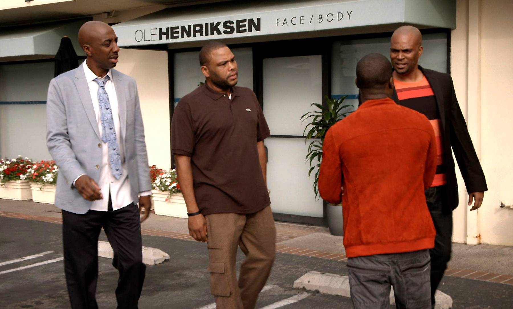 That Time J.B., Anthony Anderson and Chris Spencer Checked Kevin Over Endorsing - (Photo: BET)