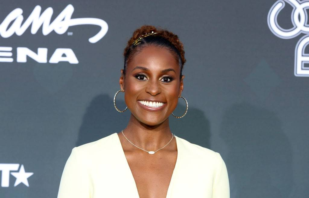 """Issa Rae - Issa Rae, 35, gives us life in every way imaginable. The fourth season of HBO's Insecure kept us on the edge of our seats wondering if Issa and Lawrence would make it. This year, she made the leap to leading lady on the big screen too. When The Photograph came out on Valentine's Day, we rushed to see our girl in this romantic drama, which she followed up with The Lovebirds—a film she also executive produced. Just like she is """"rooting for everybody Black,"""" we are most definitely rooting for her. (Photo by Gabe Ginsberg/Getty Images)"""