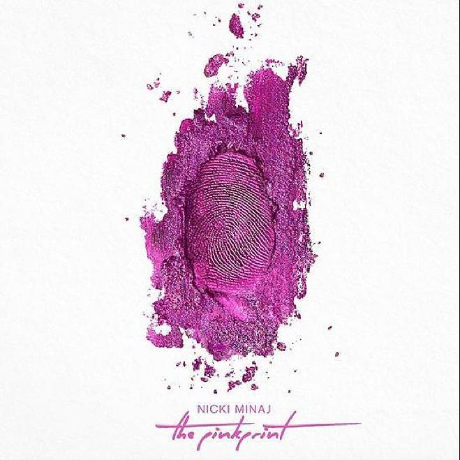 """Nicki Minaj, The Pinkprint - The first lady of Young Money once again stormed the chartsandour imaginations with a pink-inspired project that titillated our emotions with cuts like """"Pills N Potions"""" as well as our sexual funny bone with cuts like """"Anaconda."""" (Photo: Cash Money Records)"""
