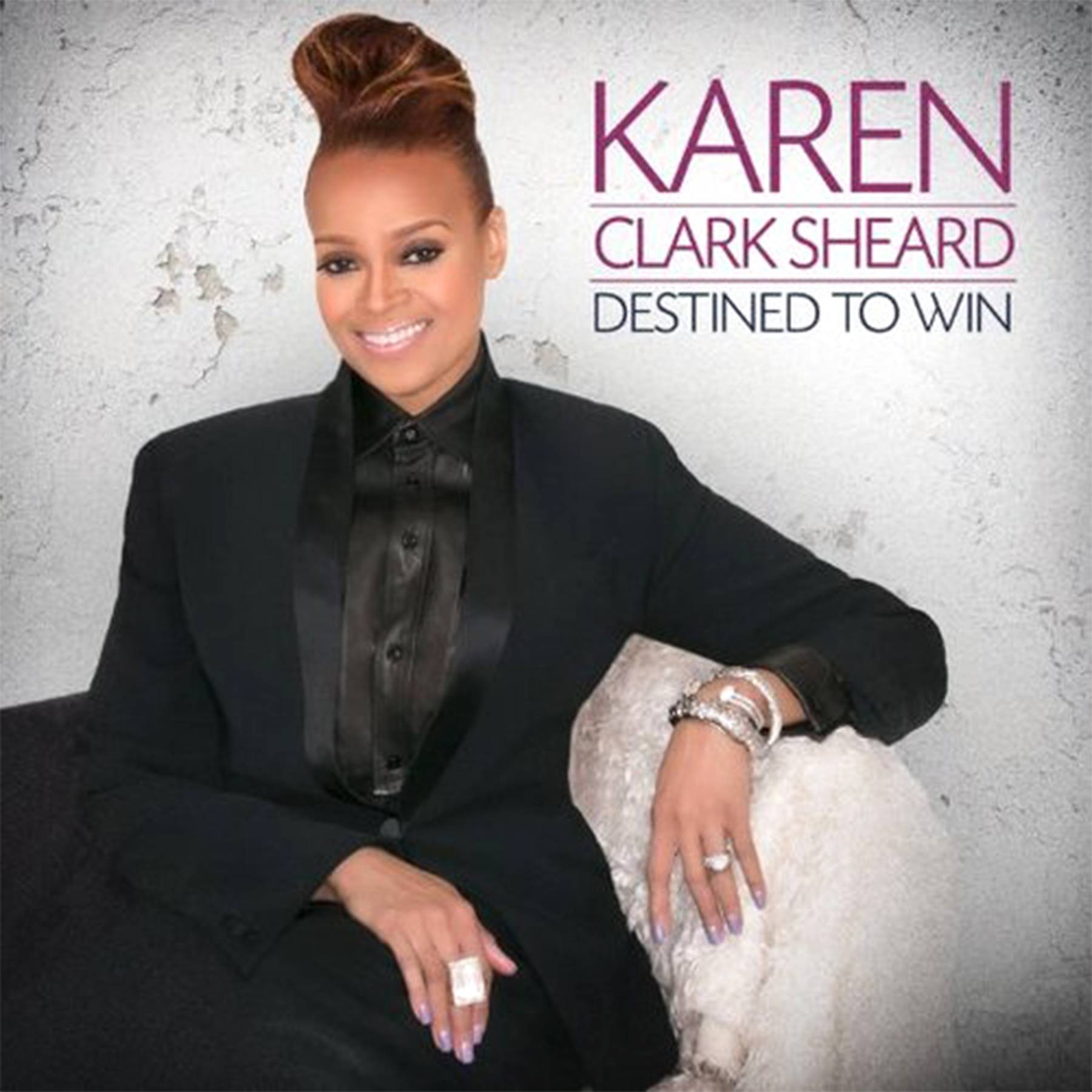 The Future  - The future is bright for Karen Clark Sheard ?she is celebrating the release of her latest album, Destined to Win, which debuted at No. 2 on Billboard?s Gospel Albums chart and at No. 20 on the Billboard Top 200, making it her highest charting debut on the Billboard Top 200 for a solo album.(Photo: Karew Records / Entertainment One Music)
