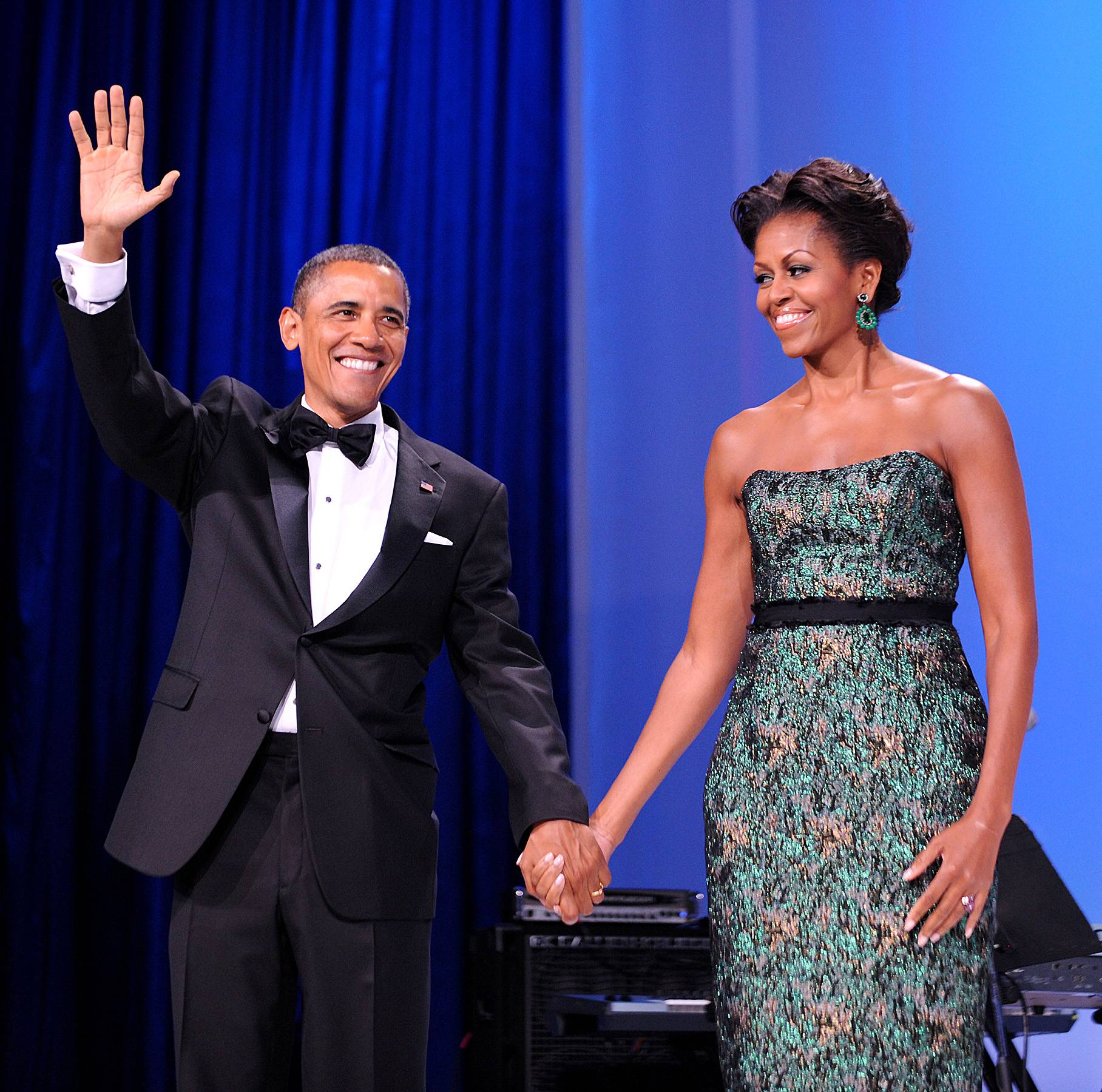 Barack Obama and Michelle Obama - In celebration of Valentine?s Day, BET.com highlights prominent African-American couples and the stories behind how they fell in love. Some stories may surprise you. ? Natelege Whaley (@natelege)Sometimes you just have to take a chance. When Michelle Obama met Barack Obama in 1989 their work relationship stopped her from accepting his dates. She was an associate at a Chicago law firm and became his adviser while he was a summer intern. The two eventually fell in love and on Oct. 3, 1992, married. Their love has reached the White House and beyond.(Photo: Olivier Douliery-Pool/Getty Images)