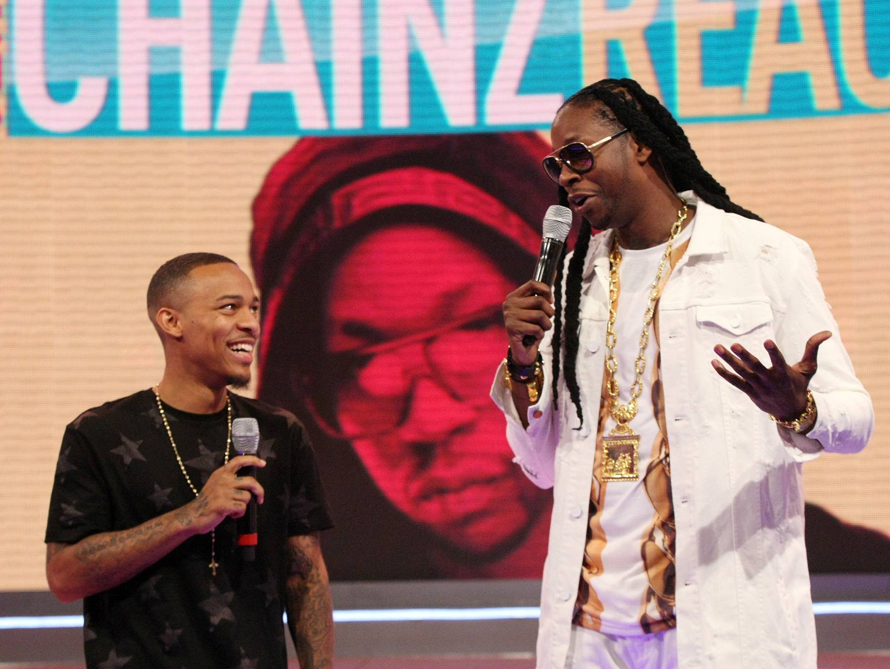 Chainz Reaction - There's not much to say about 2 Chainz being such a cool and calm dude. (Photo: Bennett Raglin/BET/Getty Images for BET)