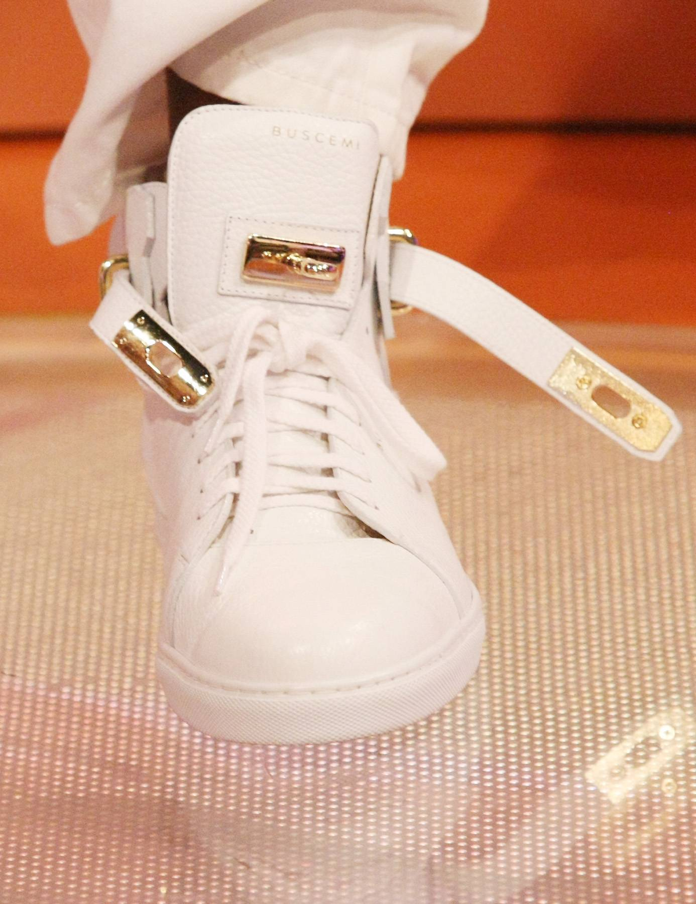 Belts on His Feet? - 2 Chainz' shoes have belts on them. (Photo: Bennett Raglin/BET/Getty Images for BET)