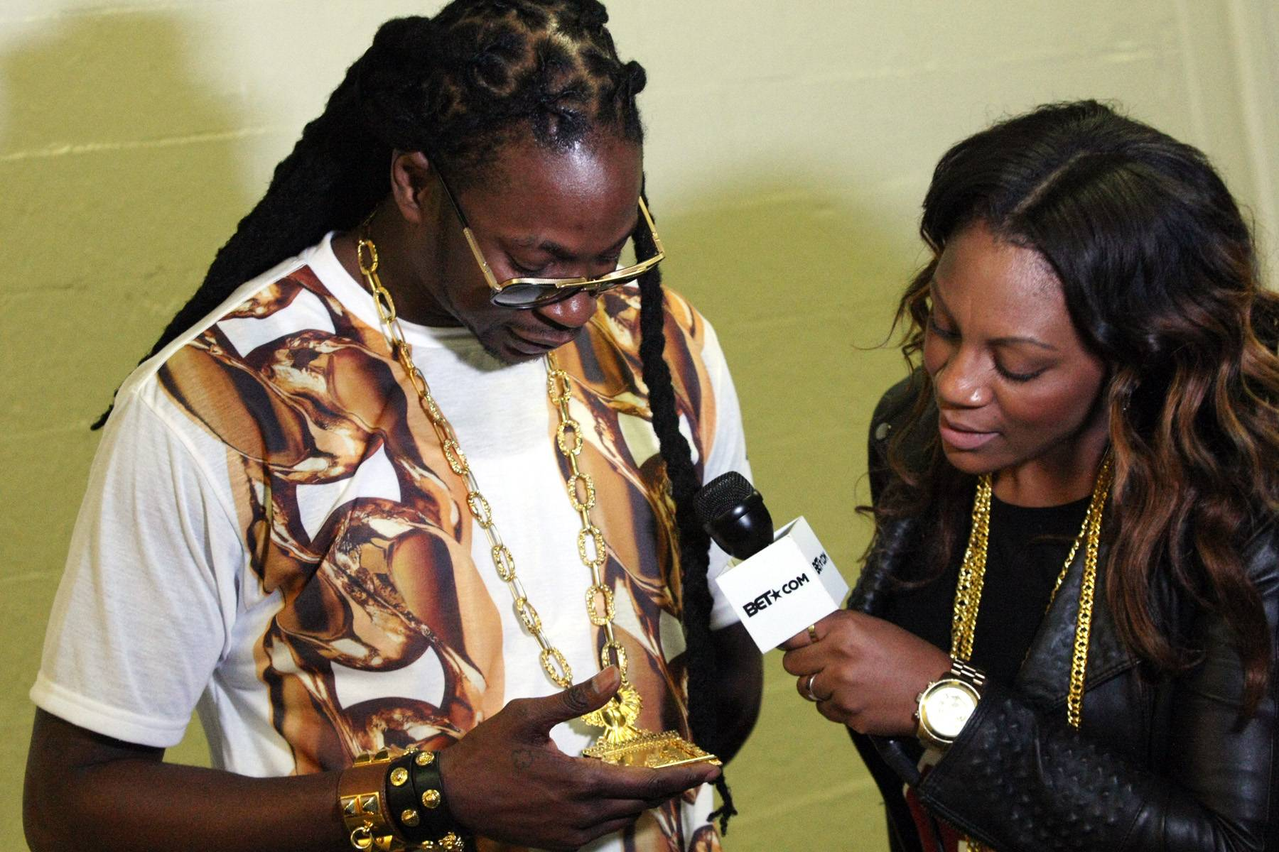 Chainz Keep Coming - 2 Chainz visits 106 and does a quick interview backstage.(Photo: Bennett Raglin/BET/Getty Images for BET)