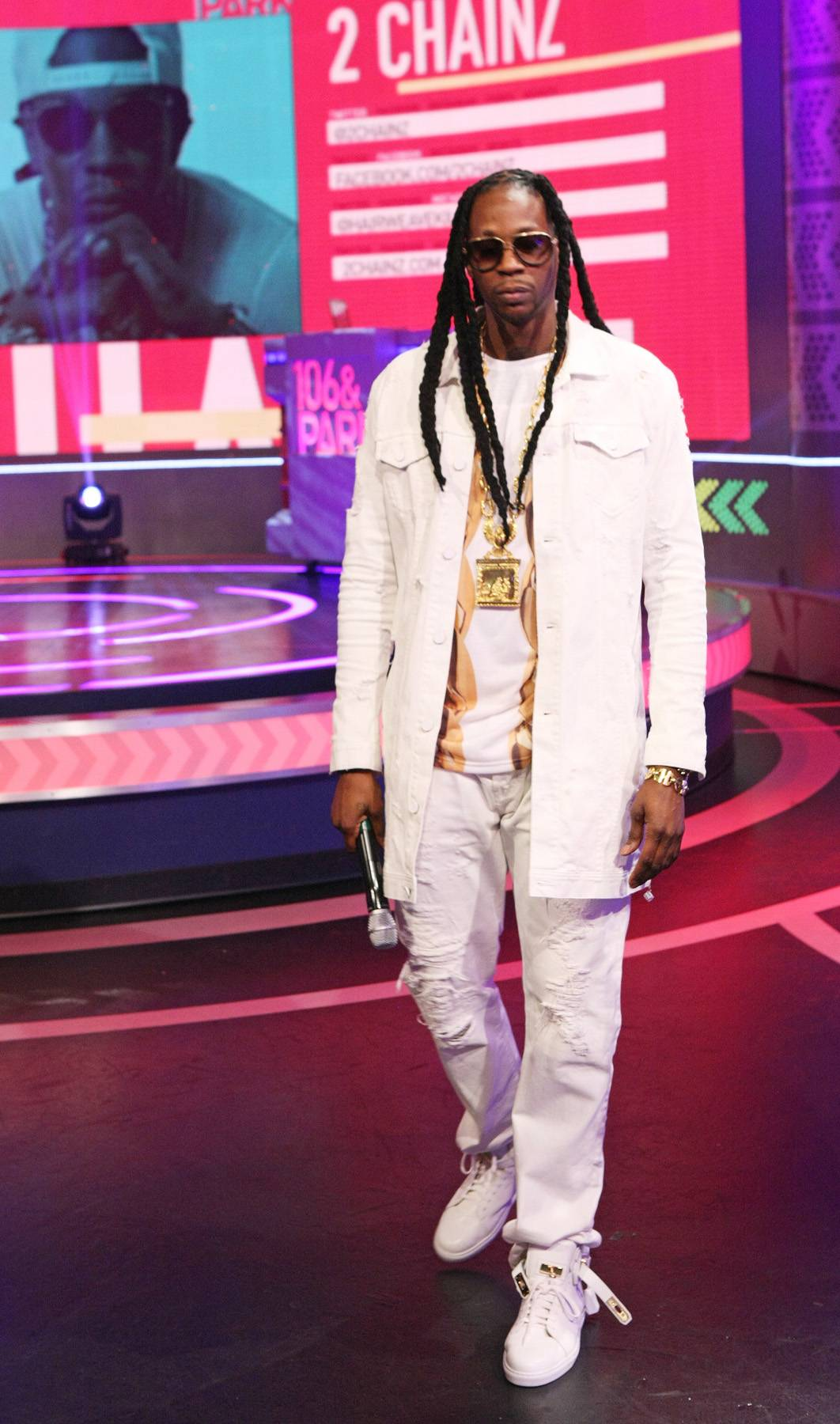 What Ya Say? - 2 Chainz is ready for anything on 106. (Photo: Bennett Raglin/BET/Getty Images for BET)