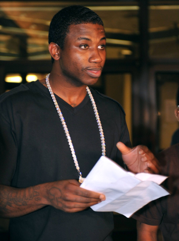 "Gucci Mane @gucci1017 - Tweet: ""Iggy wanna, suck my d--k."" (Photo: Moses Robinson/Getty Images)"