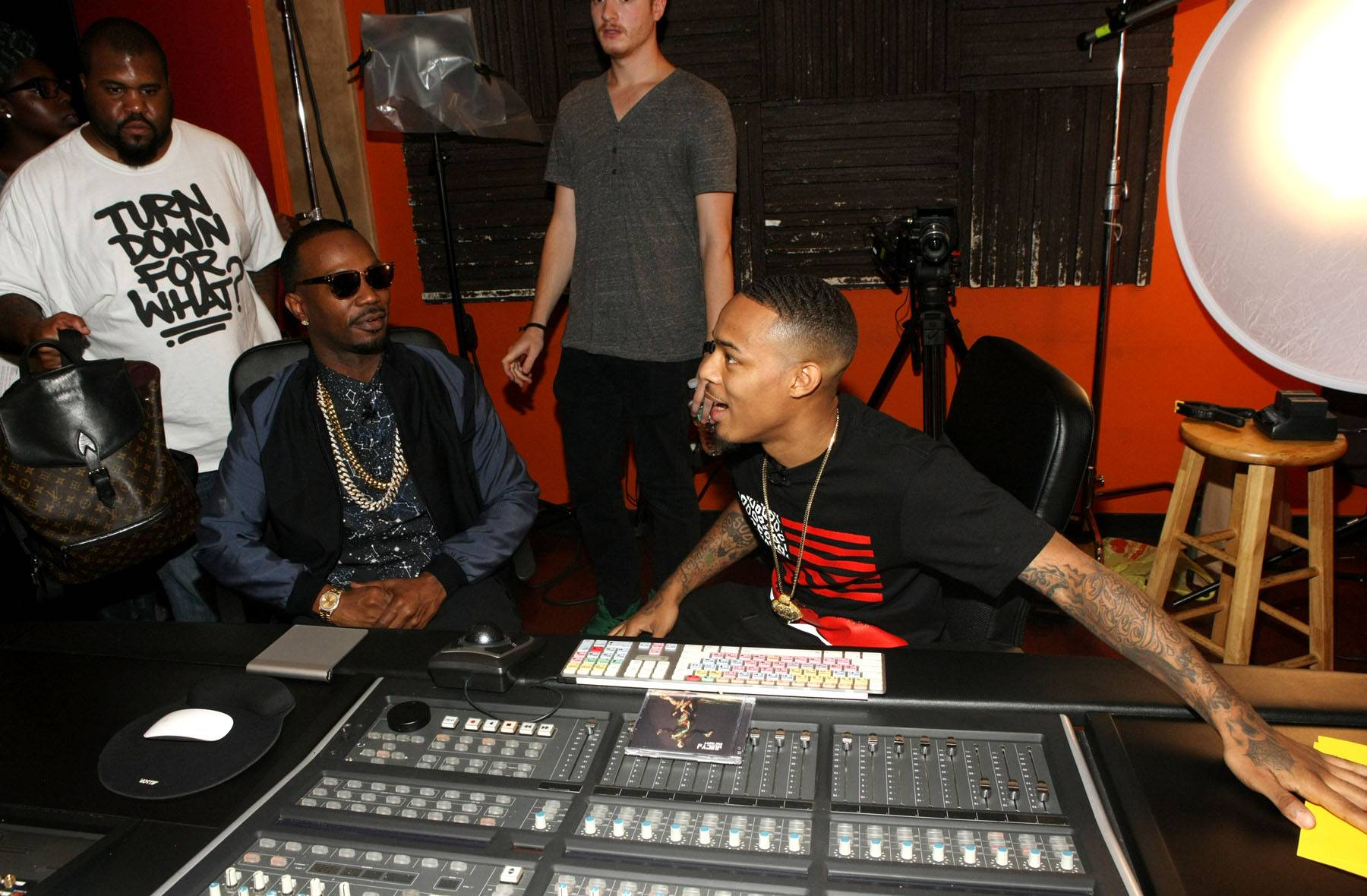 Sounding Board - Bow Wow mixes with Juicy J on 106. (Photo: Bennett Raglin/BET/Getty Images for BET)