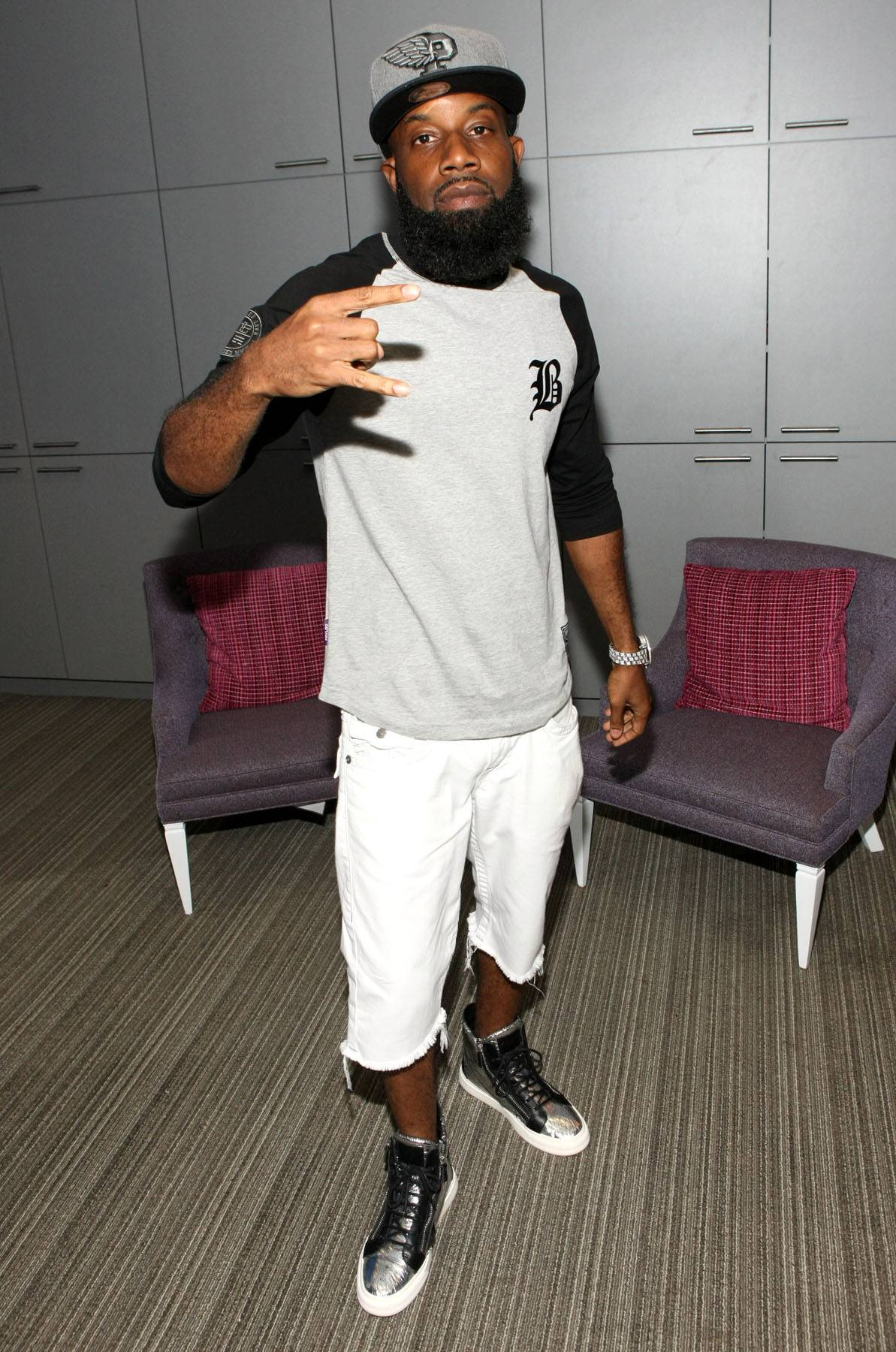 Rap Ready - Troy Smack Mitchell backstage at 106.(Photo: Bennett Raglin/BET/Getty Images for BET)