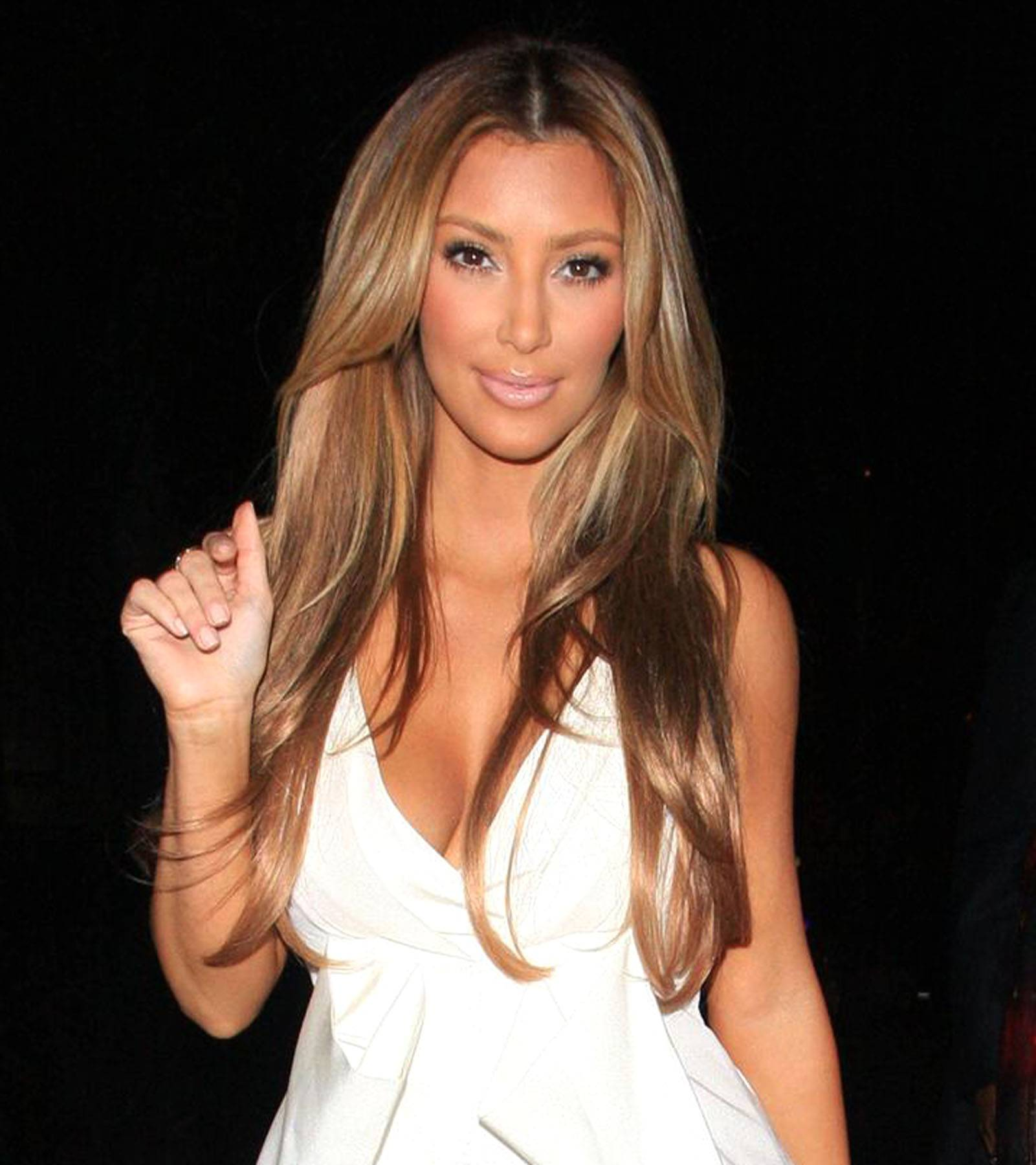 Back to Blonde - After rocking dark locks for a while, new mommy Kim Kardashian is running around Hollyweird with blonde tresses now. The new mommy is looking absolutely amazing these days and making a subtle fashion transition. Can't wait to see where Kimmy K.'s fashion sense takes her. (Photo: Hellmuth Dominguez / PacificCoastNews.com)