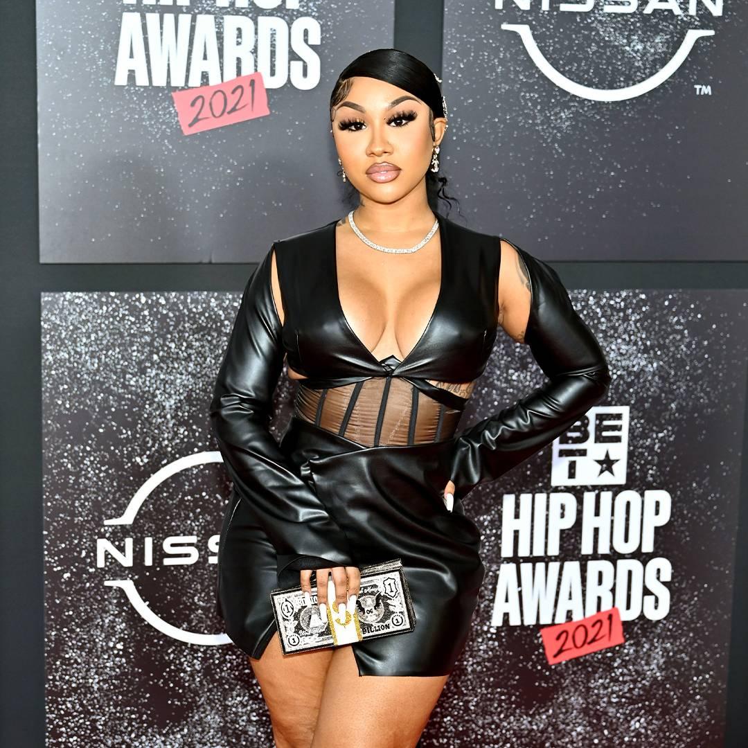 BET Hip Hop Awards 2021 | Red Carpet Social Media Influencer Ari Fletcher | 1080 x 1080