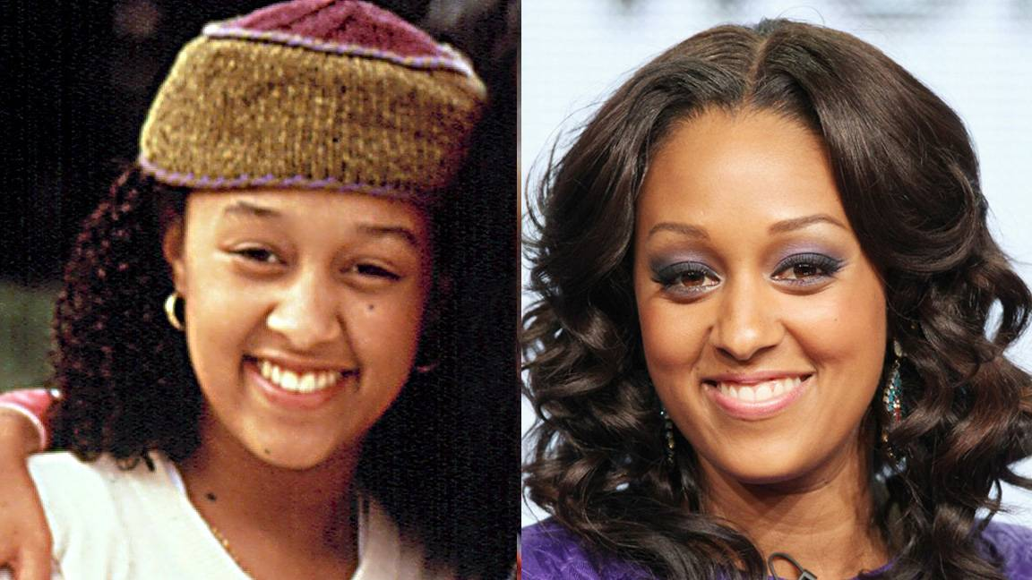 Tia Mowry - As one half of the Sister, Sister duo, Tia Mowry embraced her colorfully funky style and tomboyish ways. These days, the actress balances career and family while still looking fabulous on her Style Network show Tia & Tamera.   (Photos from left: Courtesy Everett Collection, Frederick M. Brown/Getty Images)