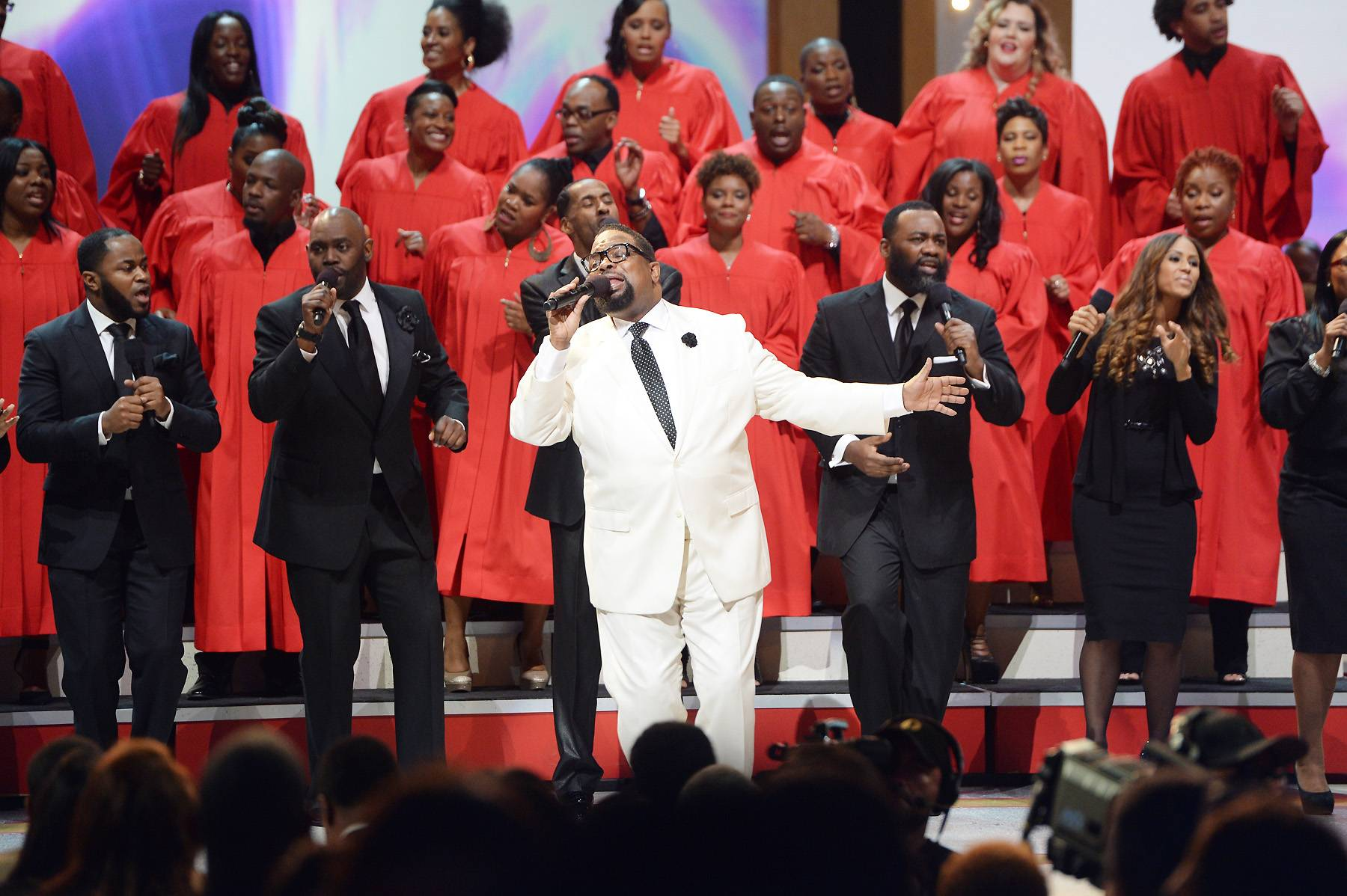 """Every Praise - Bishop Hezekiah Walker performs his No. 1 hit """"Every Praise."""" Tune in and sing along on Sunday, April 6 at 8P/7C.(Photo: Jason Kempin/Getty Images for BET)"""