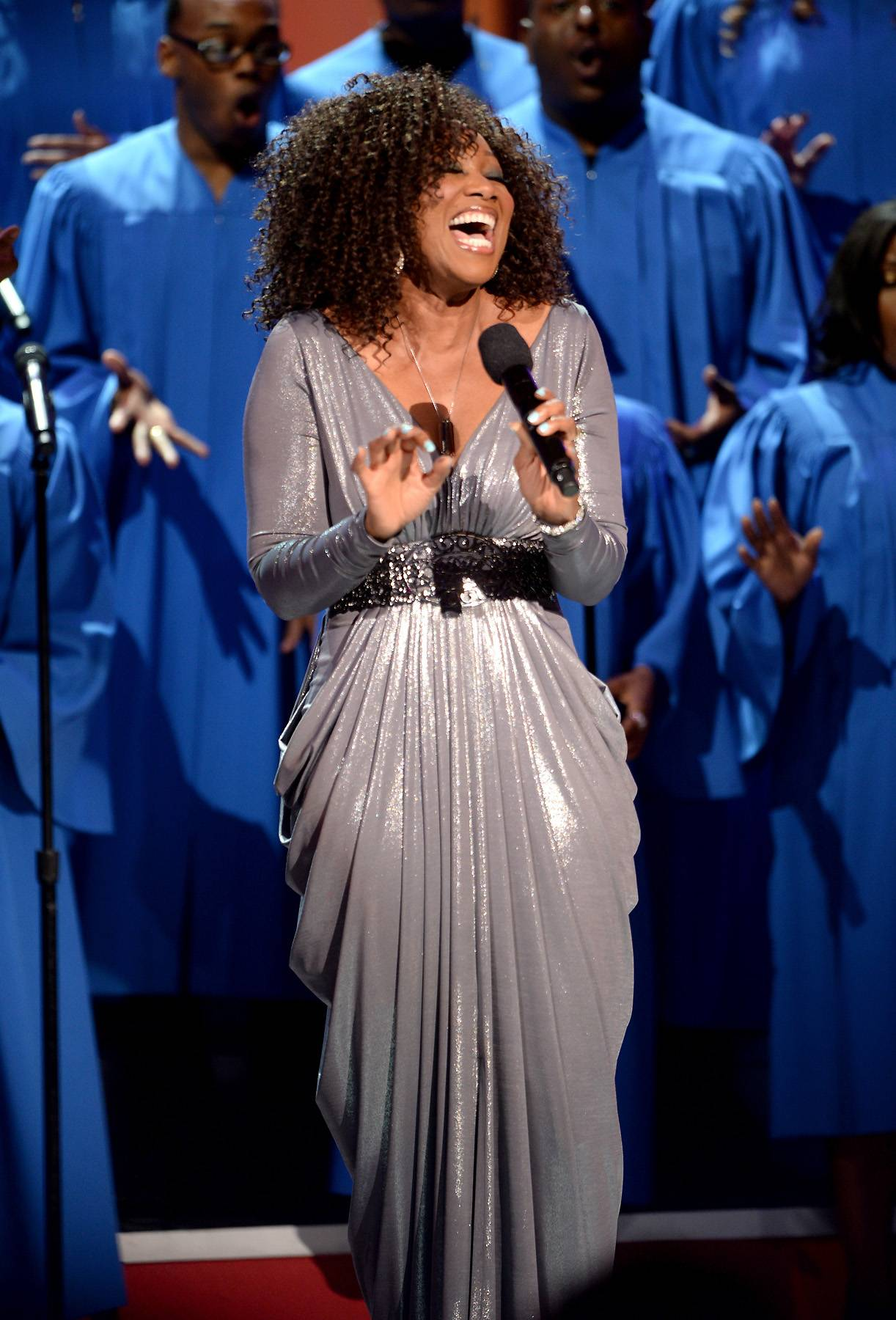 """Yolanda Adams: Road to the BET Awards 2014 - Gospel superstar Yolanda Adams is returning to the BET Awards on June 29! Not having hit the BET stage since 2012, Adams is long overdue for another memorable performance. Over the past year, the """"Open My Heart"""" songstress has continued to expand her brand, all while gearing up to return to the scene in a newly inspired light.(Photo: Jason Kempin/Getty Images for BET)"""