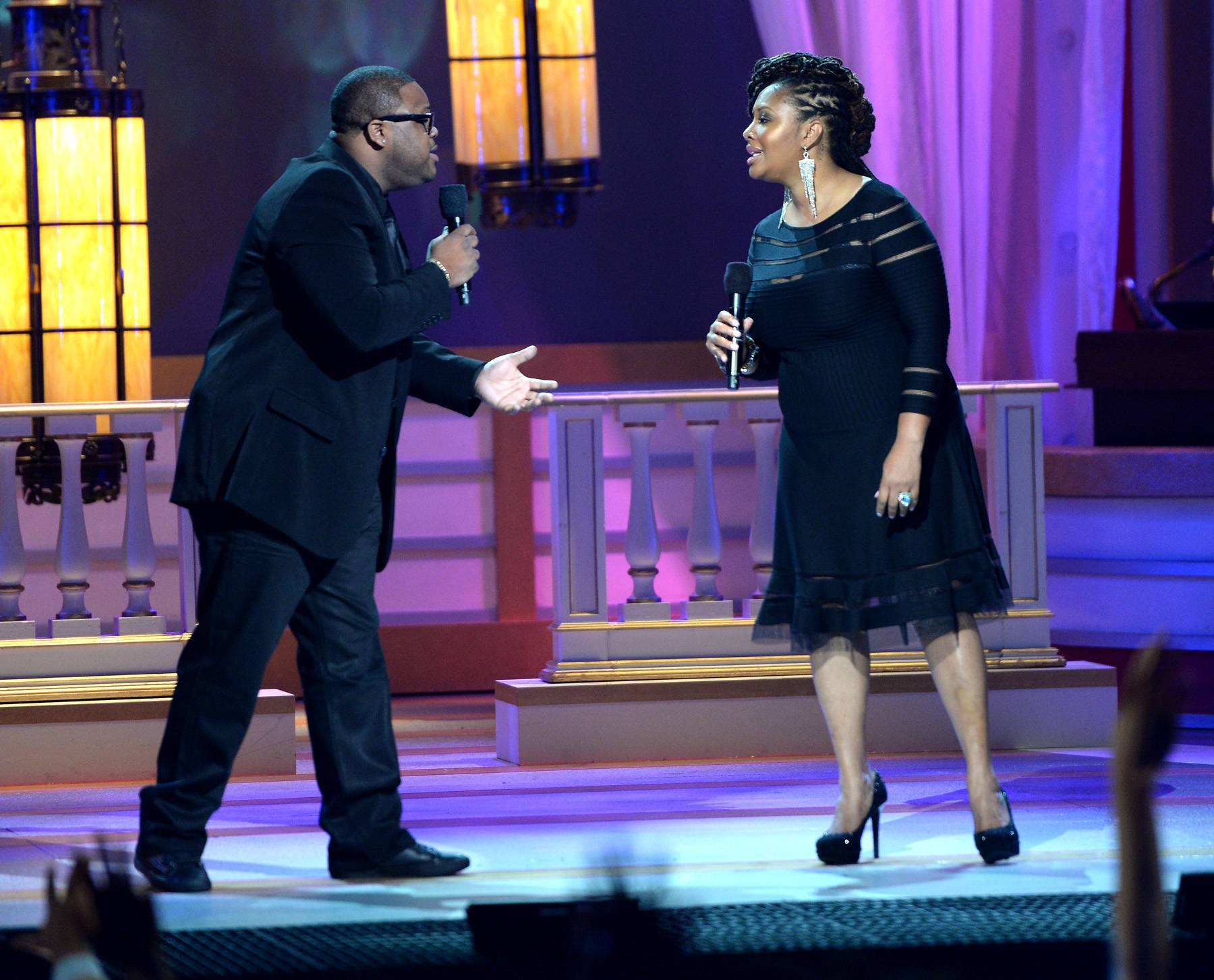 Zacardi and Lalah - The incomparable Lalah Hathaway delivered one of the best performances of the night with Zacardi Cortez.(Photo: Jason Kempin/Getty Images for BET)