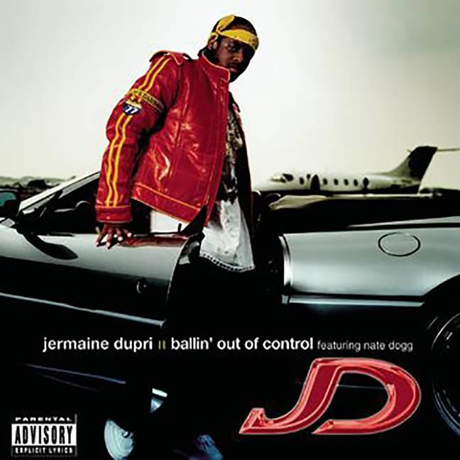 """Jermaine Dupri featuring Nate Dogg, """"Ballin' Out of Control"""" - With the help of Nate Dogg, Jermaine Durpi lived the lavish life on this cut from his 2001 album Instructions.(Photo: So So Def/Columbia Records)"""