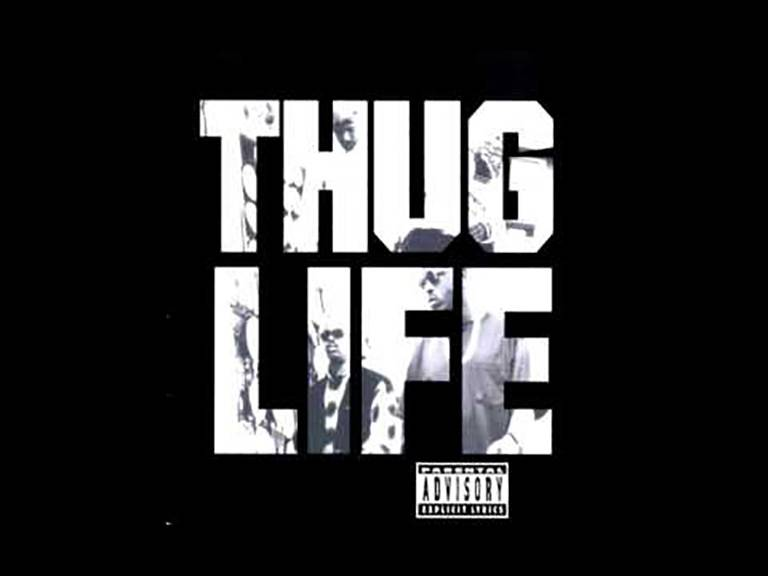 """Tupac featuring Thug Life and Nate Dogg, """"How Long Will They Mourn Me?"""" - More somber than many of his other features, this collaboration between Nate and Tupac was both lasting and ominous.(Photo: Out Da Gutta Records, Interscope)"""