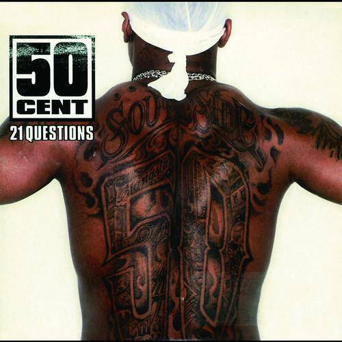 """50 Cent featuring Nate Dogg, """"21 Questions"""" - A 50 Cent and Nate Dogg collaboration had the potential to be full of boasts and threats. Instead, on this 2003 single which would hit No. 1 on the Billboard Hot 100, the two opened up their hearts and wondered if their ladies would ride with them no matter what.(Photo: Shady/Aftermath/Interscope)"""