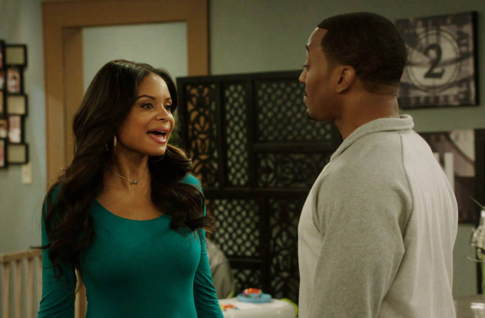 Schoolin' - Jamal and Tasha have a long talk about where to send JJ and Emma to school and finally make a decision.(Photo: BET)