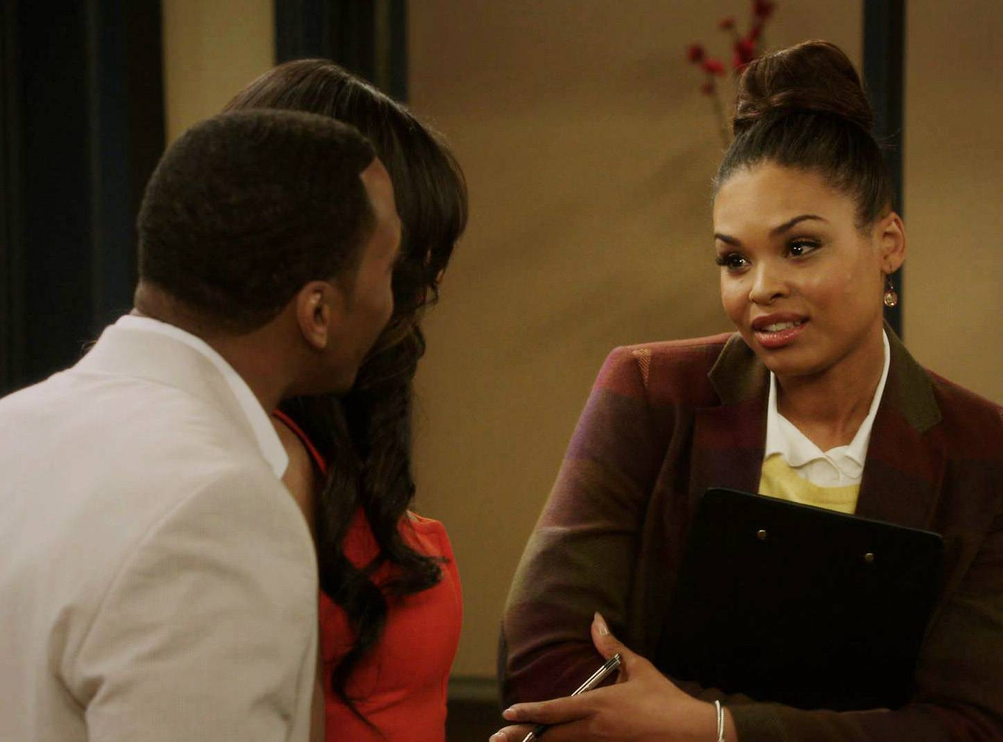 Diversity - Meanwhile, Jamal and Tasha attempt to get the twins into a prestigious private school, but find out the school just needs diversity points.(Photo: BET)