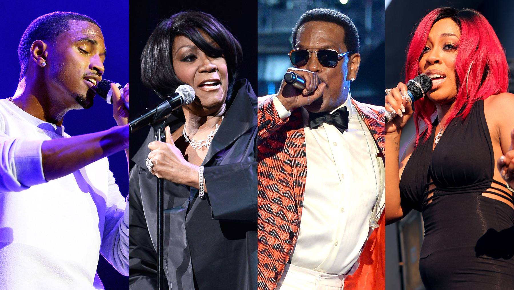 Performers  - Take a look at who is rocking the stage for The BET Honors '15.(Photos from left: Earl Gibson/BET/Getty Images for BET, Gary Gershoff/Getty Images for Super Bowl, Mark Davis/Getty Images for BET, James W. Lemke/Getty Images for BET)