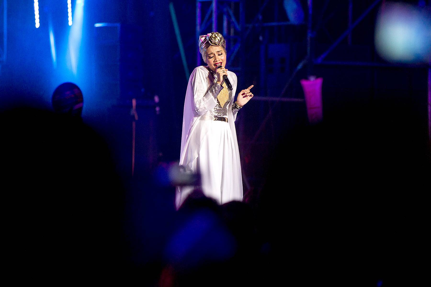 """""""Lullabies"""" by Yuna - Be sure to check out10 Things You Should Know About Yuna from BET Music. (Photo: Azhar Rahim/EPA/Landov)"""