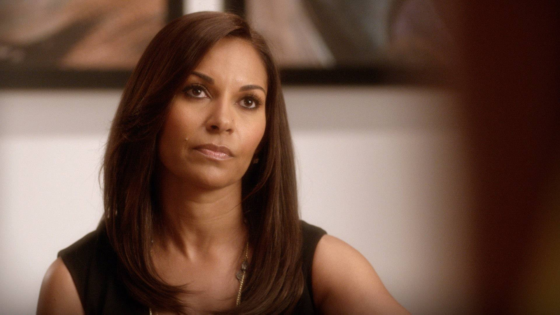 Scapegoating - That face you make when you're a therapist and you know someone is trying to scapegoat you because their feelings got hurt. Basically, Mary Jane tried it by attacking Valerie for being proud of her wife and mother status.