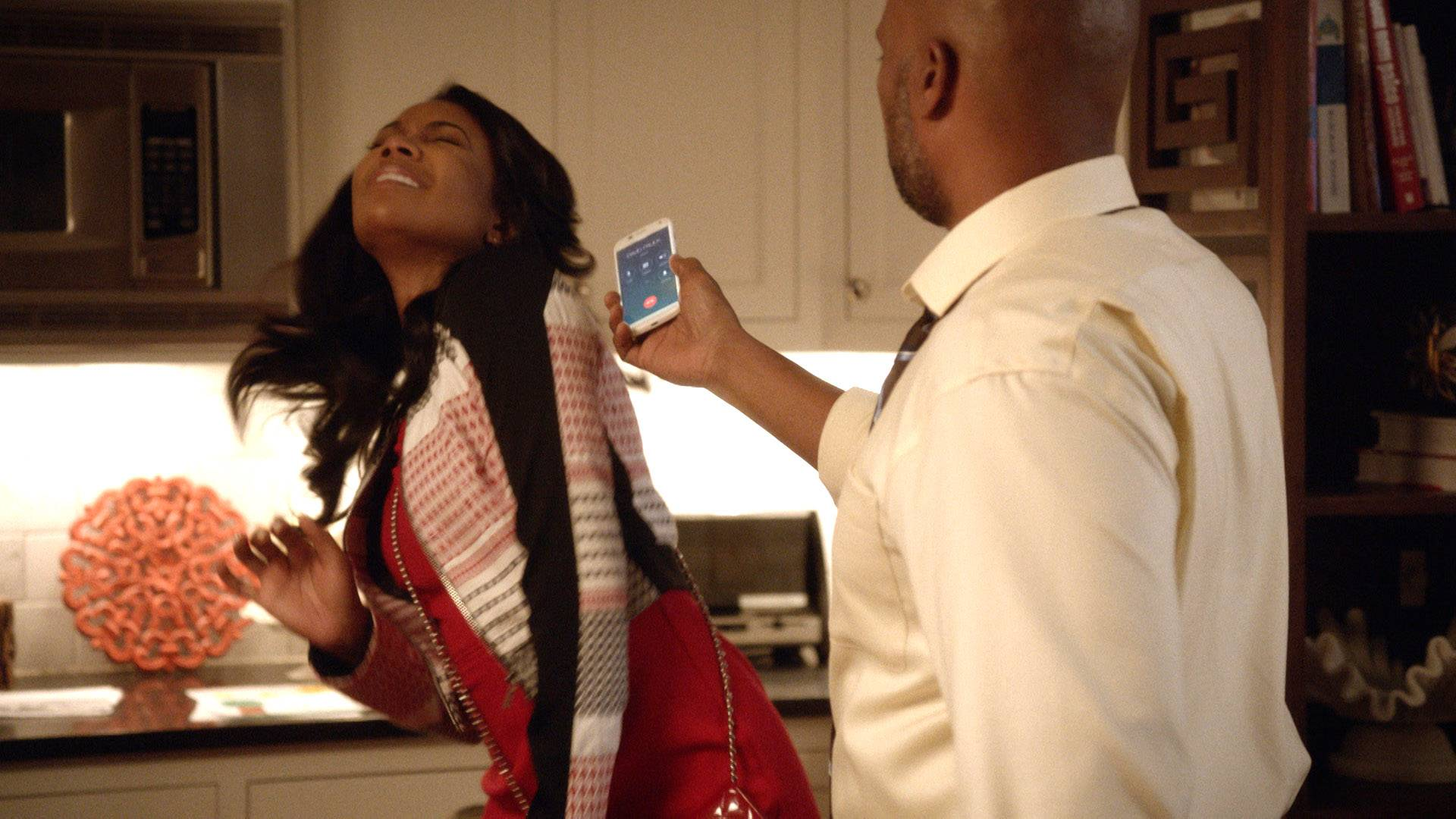 Chris Bosses Up - MJ wasn't prepared for Chris to force her to put on her big girl panties. He called David and put her on the spot. Finally, she discovers that Ana is pregnant.  (Photo: BET)