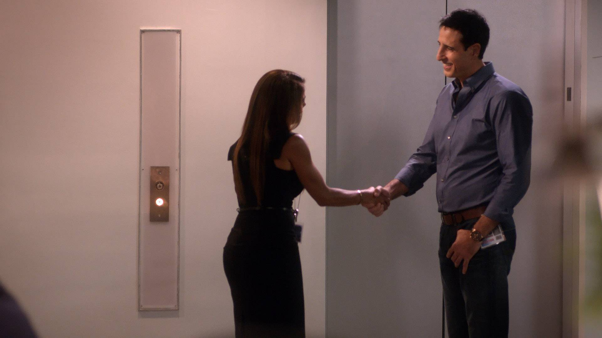 Kara Meets a Cutie  - While MJ is out and about, Kara finds time to meet a cutie by chance encounter.(Photo: BET)