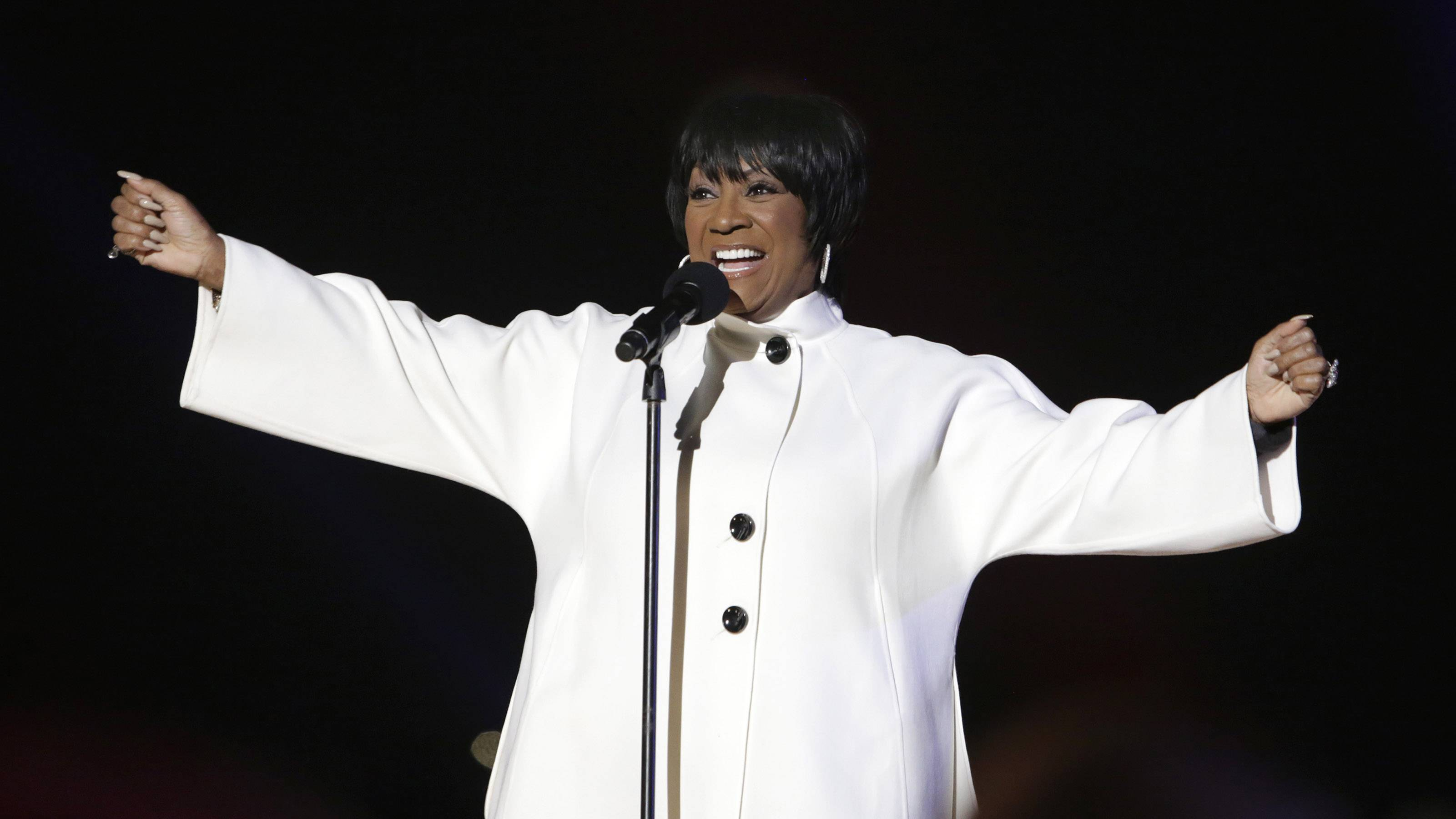 DIVA-licious  - All you need to really remember at the end of the day is that Patti LaBelle is a DIVA! I mean, she's Mariah Carey's godmother for goodness' sake. And Mariah is the princess of all divas, right under Patti. (Photo: Chris Kleponis-Pool/Getty Images)