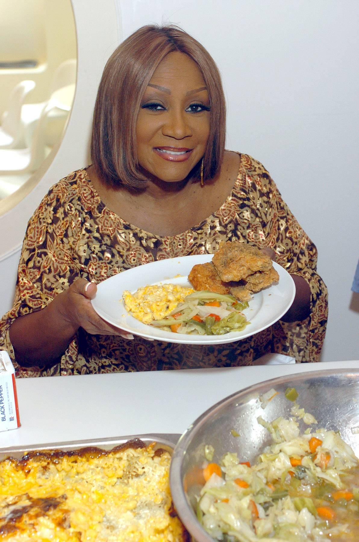 Food for the Soul  - Patti LaBelle and Laila Ali are just a couple of celebs that can showcase their skills in the kitchen. We hear Quest Love is waiting for Patti to serve him up some good ol' soul food cooking! (Photo: Brian Killian/WireImage for The Recording Academy)
