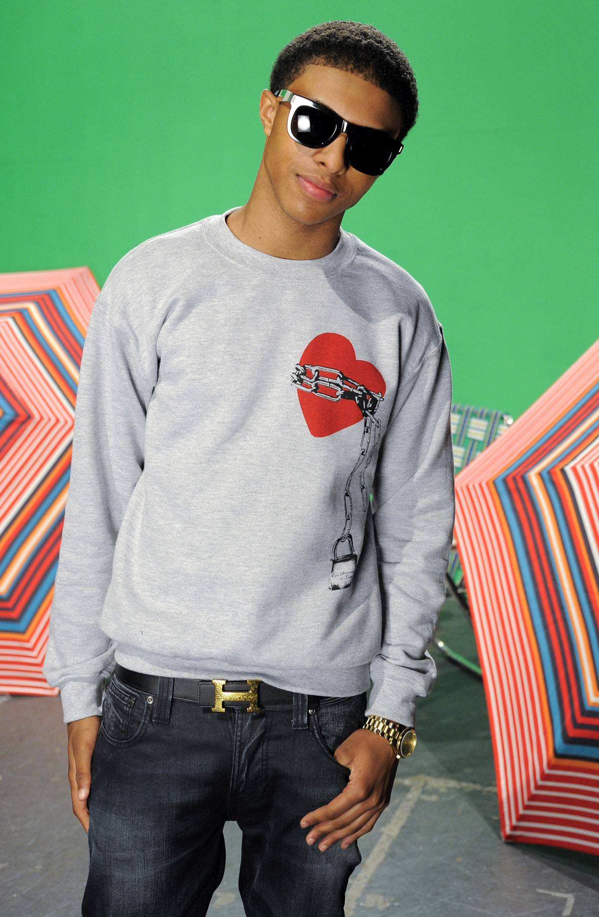 4. Diggy Is a Friend of 106 & Park - 106 always appreciates when Diggy comes through and shows love. Whether he's performing, dropping a new video or co-hosting, it's always a treat when he stops by.(Photo: John Ricard / BET)