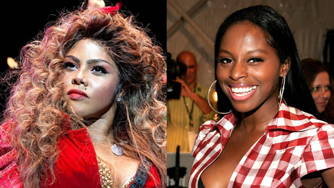 Before Nicki, Kim Infamously Beefed With Foxy - (Photos from left to right: D Dipasupil/FilmMagic, Bryan Bedder/Getty Images For IMG)