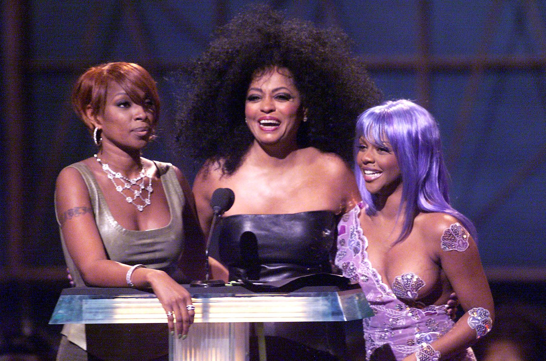 That Time Diana Ross Grabbed Kimmie's Boob on TV - (Photo: Frank Micelotta/ImageDirect)