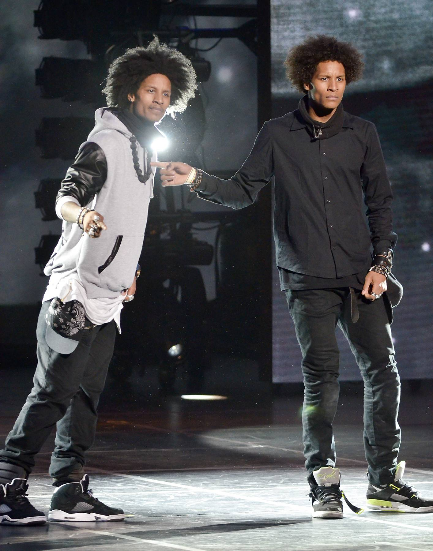 Les Twins Stop by 106 & Park Tonight - Les Twins stop by 106 & Park tonight for the final Urban Dance League battle. Tune in at 5P/4C.  (Photo: Kris Connor/Getty Images)