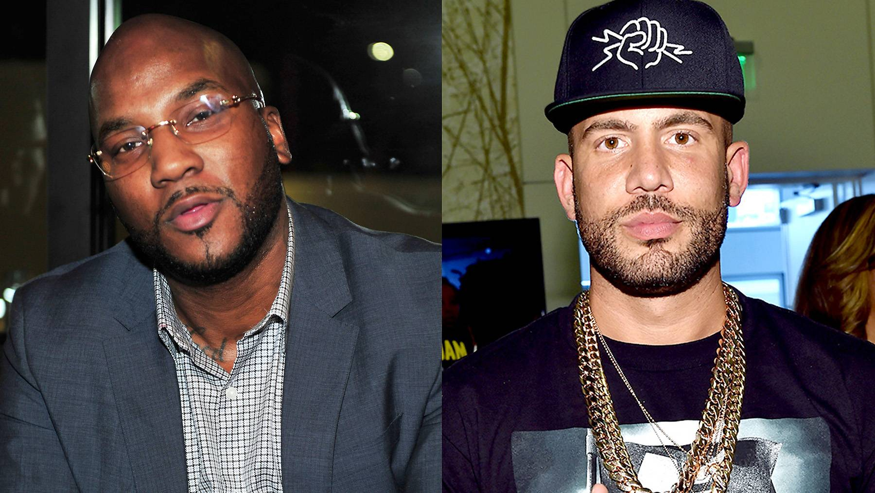 Fallout With DJ Drama - DJ Drama and Jizzle go all the way back to before Jizzle?s Trap or Die days. So when Drama hosted Jeezy?s nemesis Gucci Mane?s mixtape The Movie,it didn?t sit well with the CTE boss. The tension brewed and Drama and Jeezy?s camps got into it at the 2009 Atlanta screening for the movie Notorious. ?Drama just started acting like a b---h. Drama wanted to be Khaled, but he didn?t want to help nobody,? Jeezy told XXLabout what led to their feud.(Photos from left: Moses Robinson/Getty Images for Trey Songz and Angels With Heart Foundation, Alberto E. Rodriguez/Getty Images for BET)