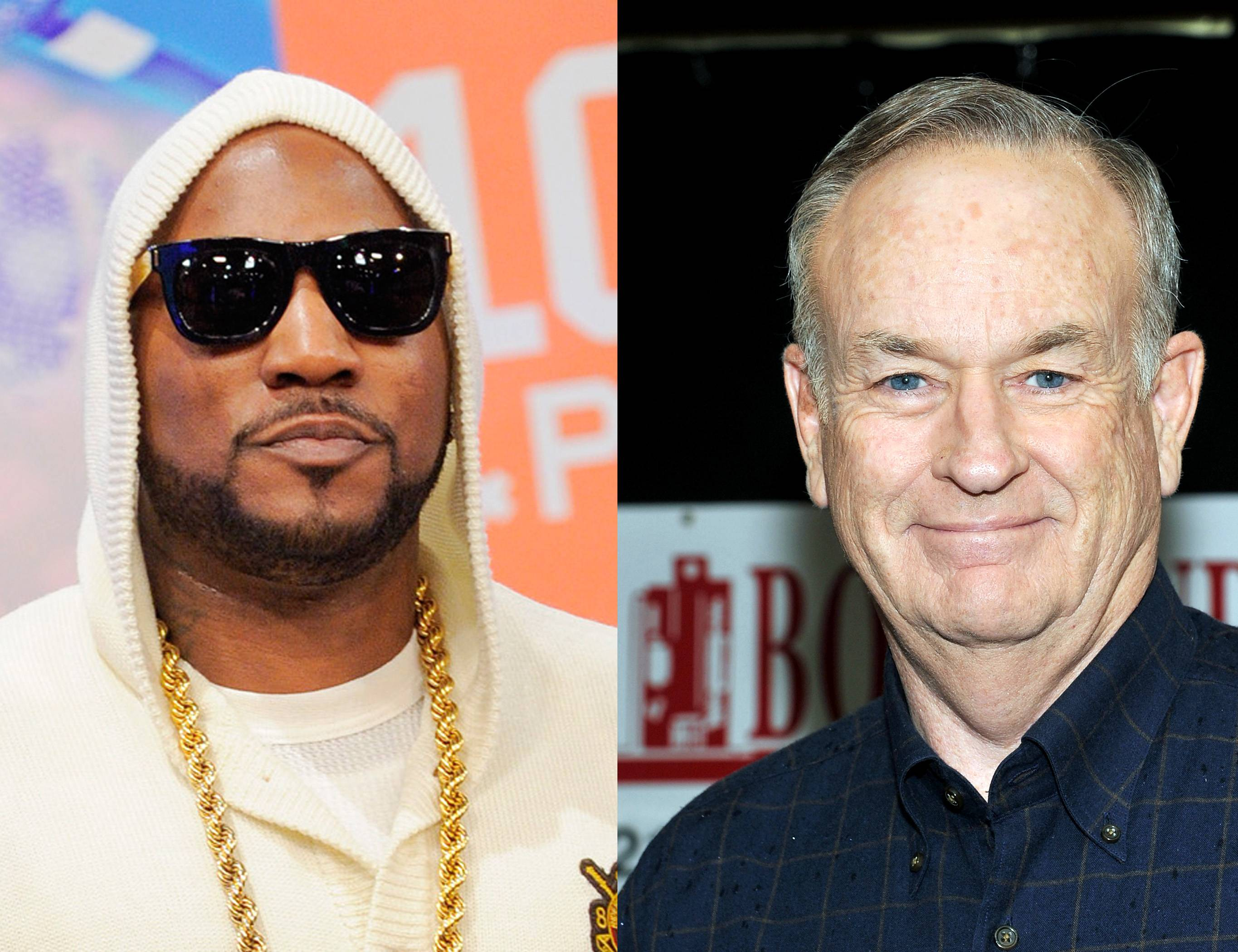 """Young Jeezy vs. Bill O'Reilly - Bill-O struck again in 2009, when he lit into Jeezy for his celebratory performance of """"My President Is Black"""" in Washingotn, D.C. when Barack Obama was inaugurated. He called it """"hateful"""" and offensive. Jeezy responded by adding an additional verse to the song, going at O'Reilly.  (Photos from left to right: John Ricard / BET, Mike Coppola/Getty Images)"""