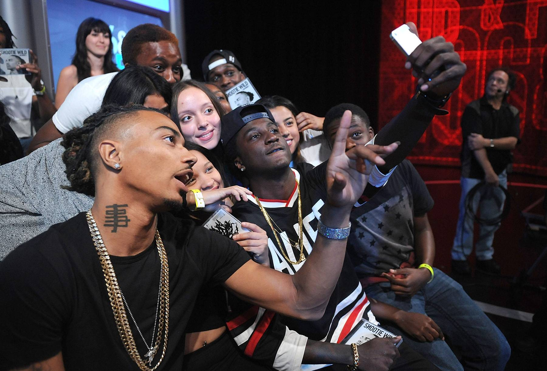 Rappers Take Selfies Too! - (Photo: Brad Barket/BET/Getty Images)
