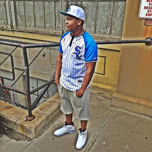 DNA - September 26, 2014 - DNA came through to 106 to let us know that he's made for battle rap. Watch a clip now!  (Photo: DNA via Twitter)