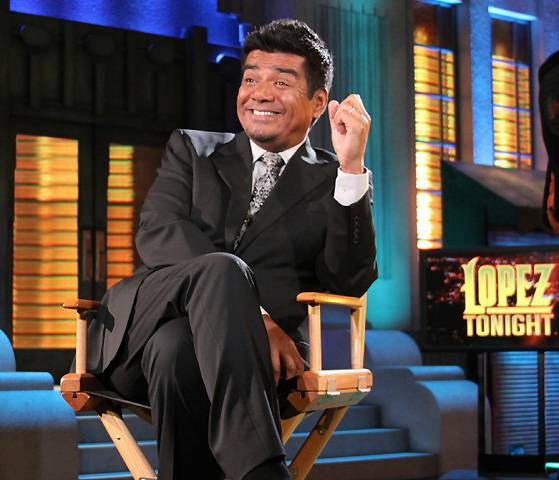 5. He Hosted His Own Late Night Talk Show - From 2009-2011, George Lopez had his own late night talk show on TBS. Despite its cancellation, he made history as the first Mexican-American to have a late night talk show.  (Photo: TBS)