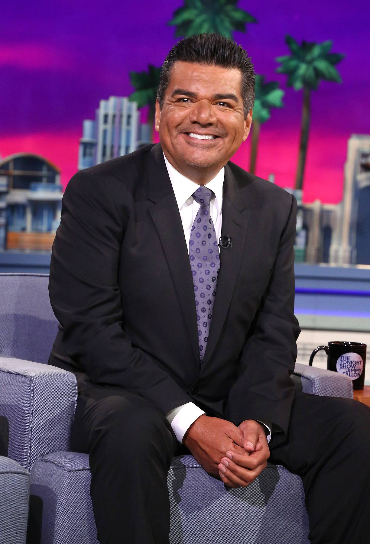 George Lopez Always Keeps It Real - Much like Kevin and the gang, George Lopez has undeniable Husbands credentials. Check him out here. (Photo: Douglas Gorenstein/NBC/NBCU Photo Bank)