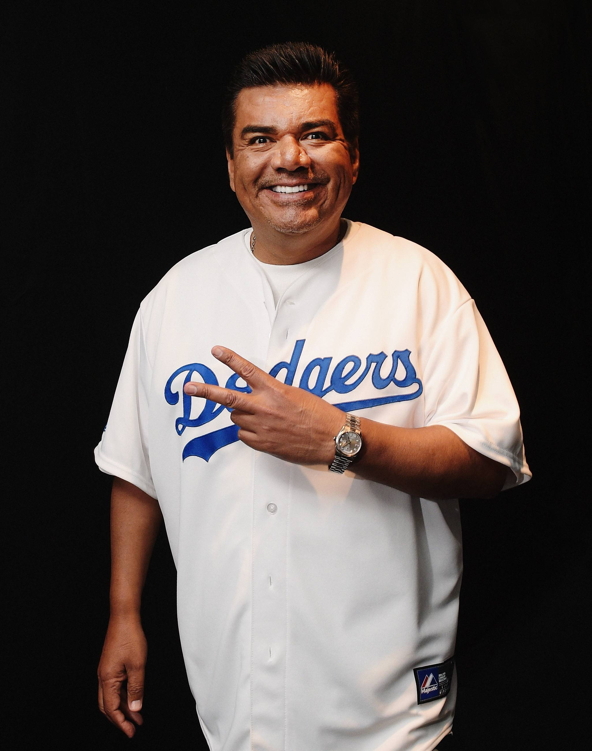 10. He's a Dodgers Fan - What's more Hollywood than that? (Photo: Jason Kempin/Getty Images)
