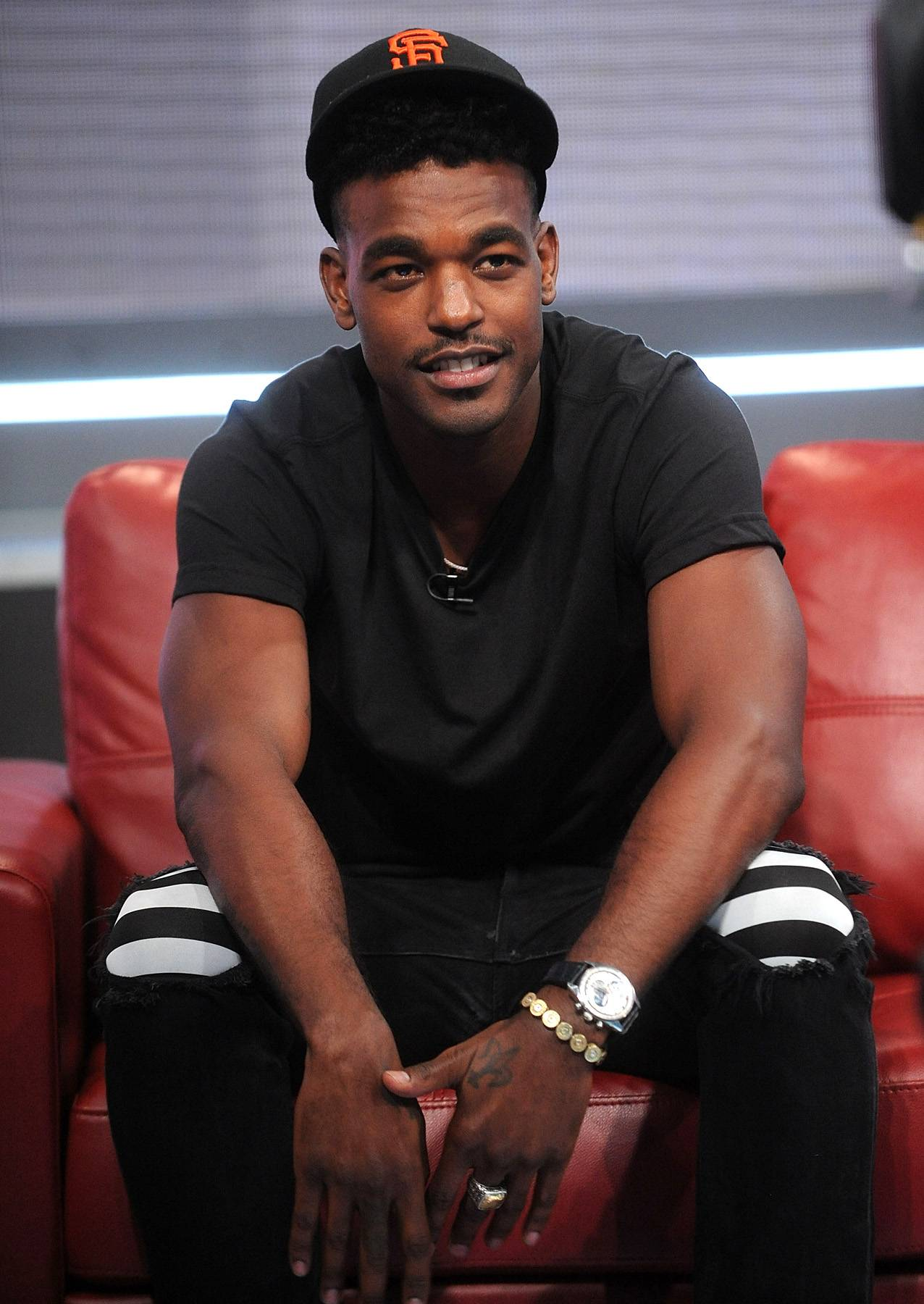 """Luke James Talks Making Music With Jessie J. - We've heard Jessie J gush over """"bae,"""" but now it's his turn. In a new interview with Vibe, Luke talks Jessie, Beyonc? and more. On a possible collaboration with his girlfriend, he says, """"Definitely. Music is in our blood, man. It?s all about a feeling, but nothing contrived. If it?s not right, we won?t do it. It?s about what feels good. It?s gotta be a good vibe."""" Read more on how Luke used to get girls with his """"bird chest,"""" here.(Photo: Brad Barket/BET/Getty Images for BET)"""