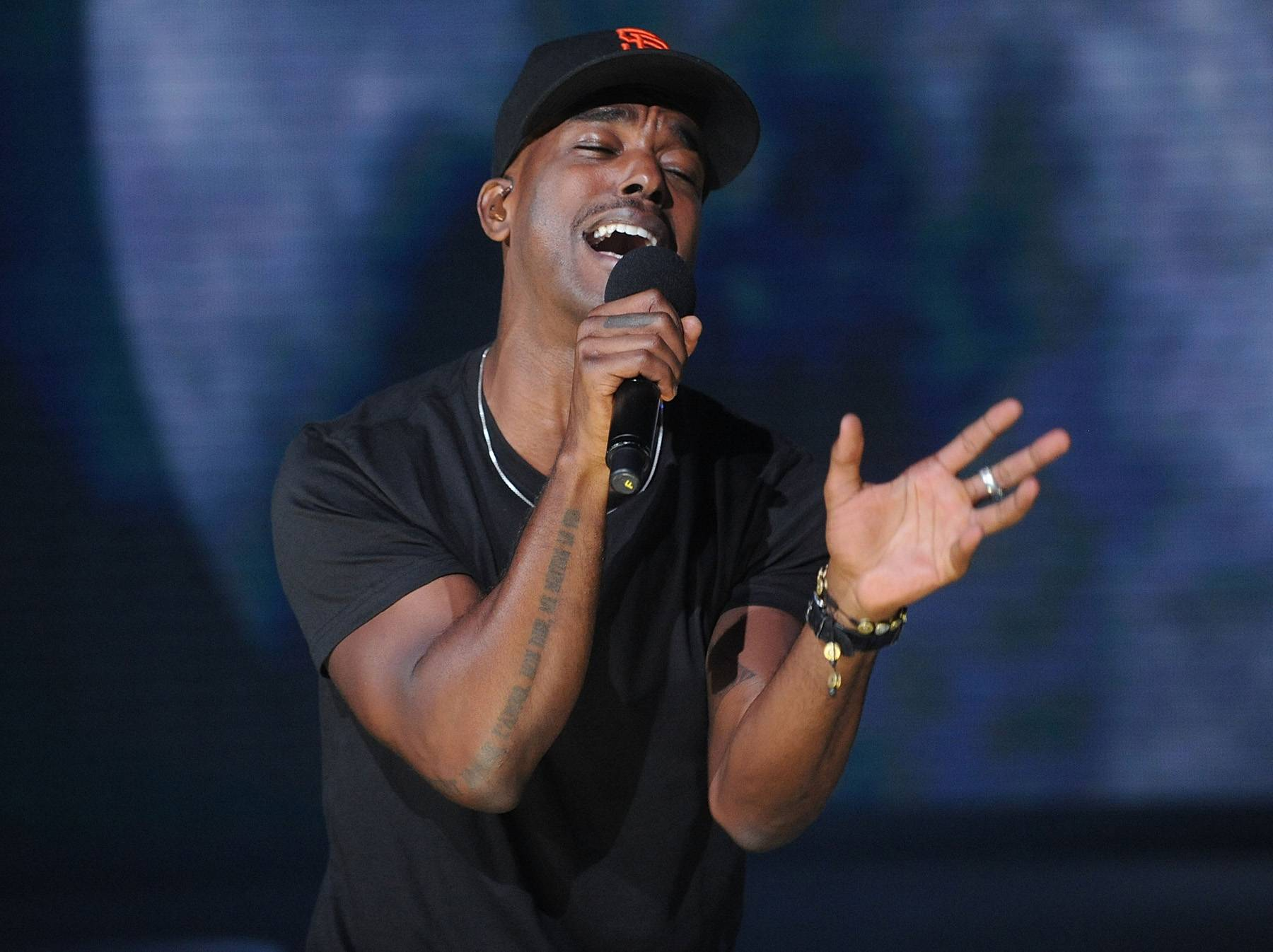 """Luke James Talks Leadership in the Industry - Luke Jameshas always been a pretty transparent artist, sharing his feelings on both the highs and lows along his ride to stardom. In a new series called Game Changers, Luke sat with Vibe to talk fears and the leaders in his life. During the insightful clip, Luke shared his thoughts onBeyonc?as a leader. """"She's proven herself time after time from her first solo album. When the label said she had no hit and she had five."""" Check out some of Luke's other role modelshere.(Photo: Brad Barket/BET/Getty Images for BET)"""