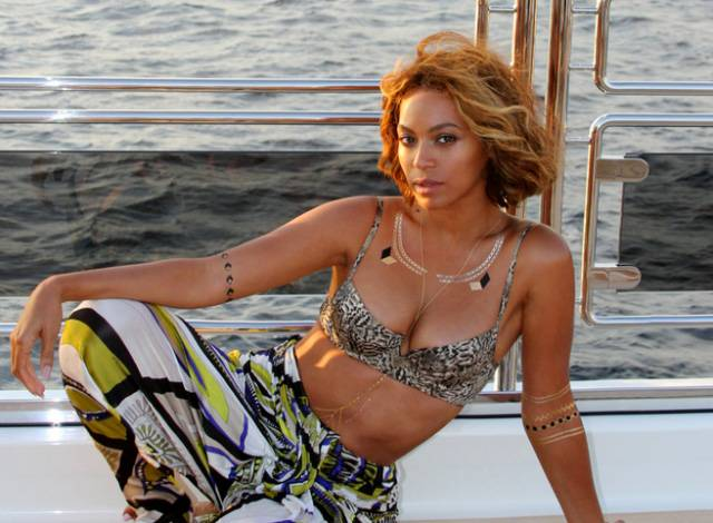 Beyonc? Releases More Bikini Pics - From the looks of things, Beyonc? is still having fun with her family in Europe. She released a series of new photos of herself in a bikini and on a yacht, of course, as well as flicks of Blue Ivy. Check them out here.  (Photo: iam.beyonce via Tumblr)