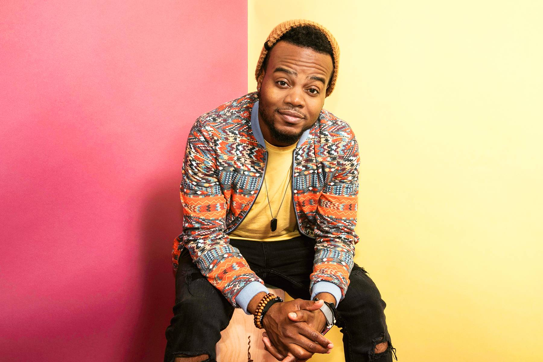 Performer Travis Greene  - (Photo: Andre L. Perry/BET)